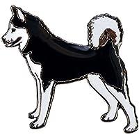 Blue Bug Lapel Pin Badge-Spilla a forma di cane Husky
