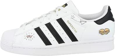 adidas Unisex Kid's Superstar J Gymnastics Shoe