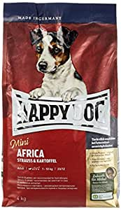 happy dog 60121 hundefutter mini africa 4 kg l haustier. Black Bedroom Furniture Sets. Home Design Ideas