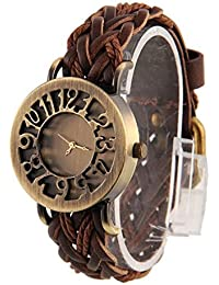 LegendDeal Vintage Analogue Casual Gold Dial Watch For Women and Girls - Vinatge-0036