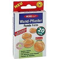WUNDPFLASTER 2,5 cm rund 20 St preisvergleich bei billige-tabletten.eu