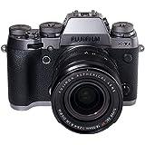 Fujifilm X-T1 Systemkamera (16 Megapixel, Klappbares 7,6 cm (3 Zoll) LCD-Display, APS-C X-Trans CMOS II Sensor, WiFi, staubgeschützt) Kit inkl. Fujinon XF 18-55 mm Objektiv graphit/silber