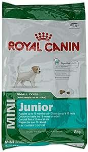 Royal Canin Mini Junior Dry Dog Food - 8 kg