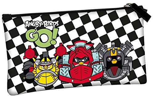 Angry Birds – Neceser, color negro y blanco (Montichelvo 47060)