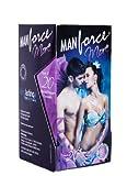 Man Force More Dotted Pleasure Condoms -...