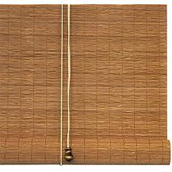 Cortinas de bambú/persianas enrollables/Cortinas de elevación - Cortinas Decorativas Interiores/Exteriores (el tamaño Puede ser Personalizado) Protector Solar/sombrilla