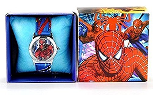 SPIDERMAN Wrist Watch Boxed Boys Kids birthday present gift