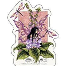"""AMY BROWN Fox Gloves II, Officially Licensed Original Artwork, High Quality, 5"""" x 4"""" - Sticker Pegatina DECAL"""