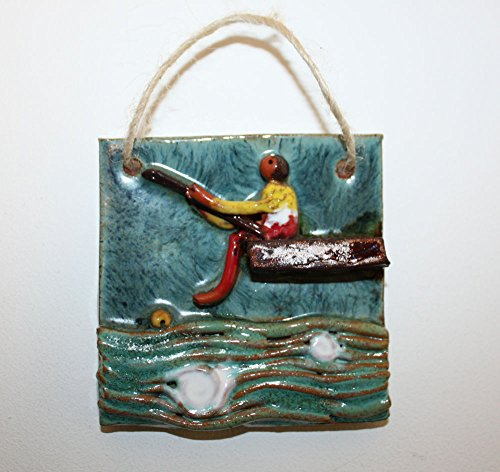 lovely-decorative-small-hand-made-ceramic-wall-tile-man-fishing