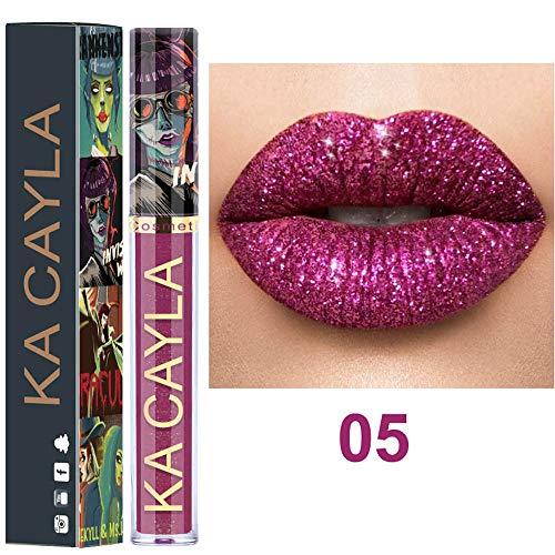 PNING Sexy 8 Farben Nude Metallic Matt Samt Glossy Lipgloss Lipstick Lippencreme Europa Stil Matte Lippenstift Lippenstift High End Geschenk Langlebige Lippen Kosmetik