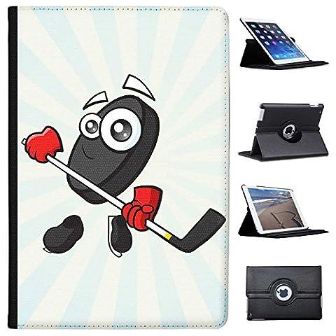"""Sporticon Eishockey Puck Schlittschuhe Case Cover / Folio aus Kunstleder für das Apple iPad Pro 10.5"""" (2017)"""