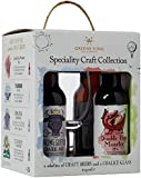 Greene King Craft Ale Collection Gift Set with Chalice Glass 330 ml (Case of 4)