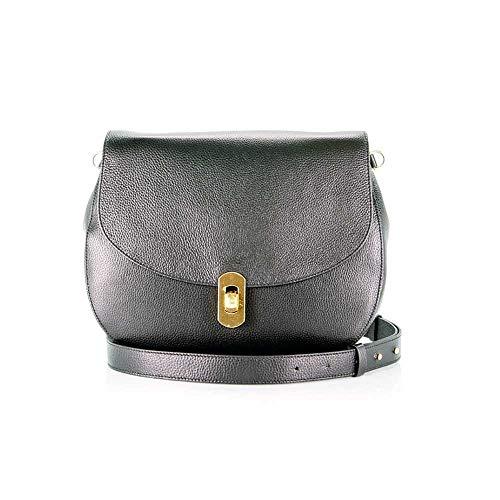 34ac5320528eb Coccinelle Tasche Zaniah Crossbody-Tasche Leder Schwarz - E1DG0120101001