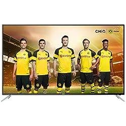 CHiQ, UHD65E6200ISX2, Smart 4K TV, 65 Pouces (165cm) Ultra Haute Définition, 3840x2160, Noir