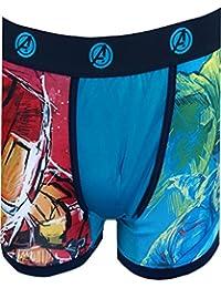 995cc600686d3c Marvel Comics Avengers Age of Ultron Performance Wear Boxer Brief for Men  Blue