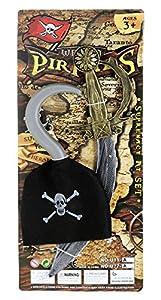 JUINSA Espada Pirata y garfio única 81812.0