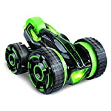 Toys Bhoomi Super-Fast Shock Absorbing 5-Wheeled Stunt Race Car with Bright Led Lights(Green)