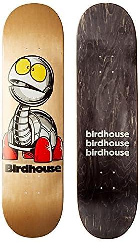 Vogelhaus Skateboards Schildkröte Team Deck, 20,3cm