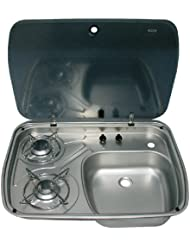 Dometic Kocher-Spülenkombination mit Glasabdeckung, 29247