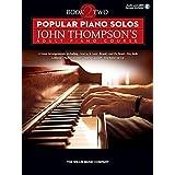 Popular Piano Solos - John Thompson's Adult Piano Course: Book 2