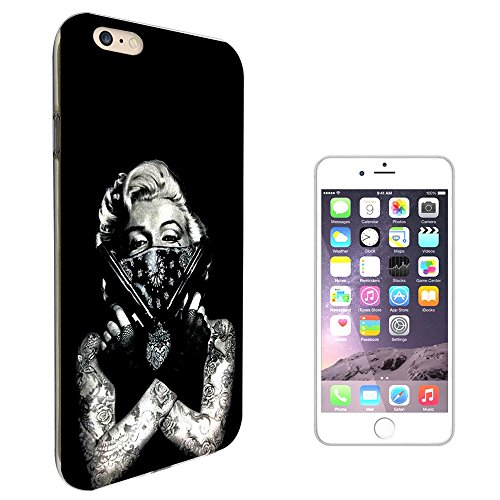 003307 - Marilyn tattoos guns bandit Design iphone 7 4.7