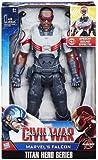 Marvel Titan Hero Series Civil War Captain America Electronic Figure