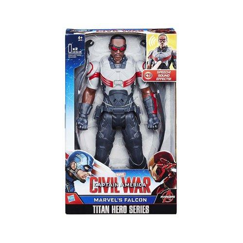 Marvel Titan Hero Serie Bürgerkrieg Falcon elektronische Figur