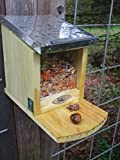 Eichhörnchen Futterhaus, futterautomat, futterstelle + 500 Gr Futter