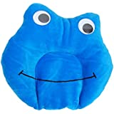 Gurukripa New Born Baby Soft Velvet Fabric Musterd Seeds Rai Pillow For Baby Head Shaping Toy Shape Takiya Mustard Rai Seed Pillow For Easy Washing Feeding & Nursing Baby Neck Pillow(Sky Blue)