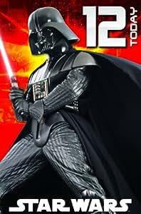 Star Wars SW369 Carte d'anniversaire 12 ans (en anglais)