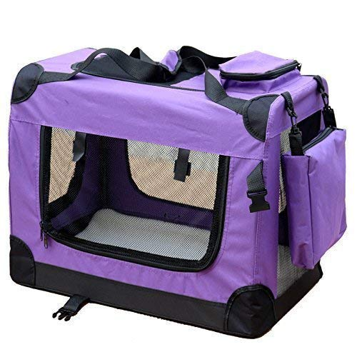 Andreas Dell HUNDEBOX TRANSPORTBOX HUNDETRANSPORTBOX HUNDETRANSPORT AUTOKORB Hund Katze Box M VIOLETT