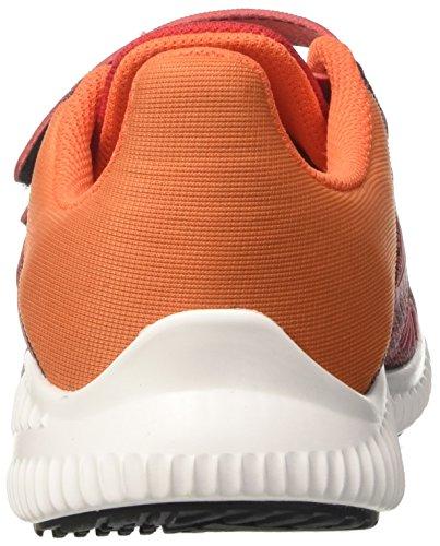 adidas  Fortarun Cf K, chaussure de sport Unisexe - enfant Rouge (Scarle/eneora/ftwwht)