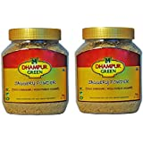 Dhampur Green Jaggery Powder (Pack of 2, 1.4 Kg) Free Gur Saunf 150g