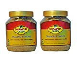 #8: Dhampur Green Jaggery Powder (Pack of 2, 1.4 Kg) Free Gur Saunf 150g