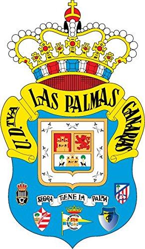 UD Las Palmas FC Spain Soccer Football Alta Calidad De Coche De Parachoques Etiqueta Engomada 8 x 12 cm