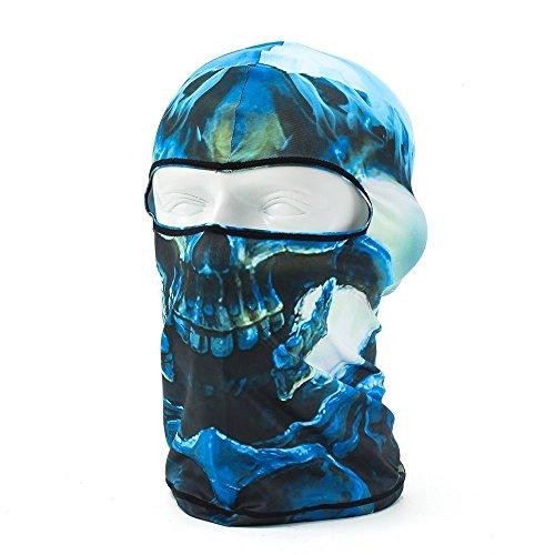 dooger Gesichtsmaske Ghosts Balaclava Motorrad Radfahren cosply Kostüm Totenkopf Skelett Maske-12Styles mehrfarbig KBCY-09
