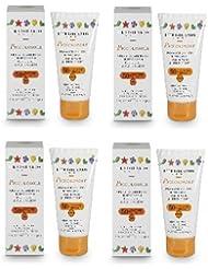 L'Erbolario–piccolosole Crème solaire enfant SPF50 + 75ml–4boîtes–Calendula, UVA, UVB, jouer, Anti-brûlure