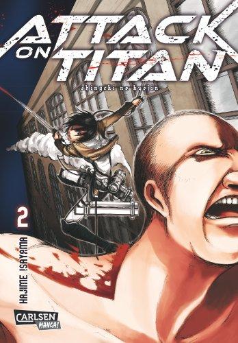Buchseite und Rezensionen zu 'Attack on Titan, Band 2' von Hajime Isayama