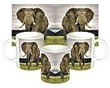 Elefante Elephant Taza Mug
