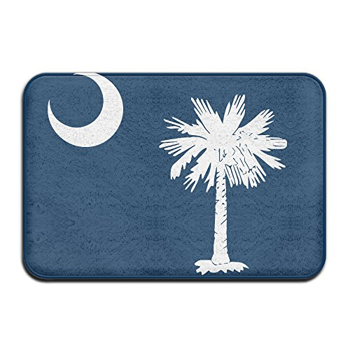 South Carolina State Flagge Personalisierte Fußmatten - Personalisierte State Map