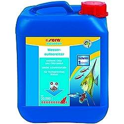 sera 03080 aquatan 5 Liter - Leitungswasseraufbereiter (5ml auf 20 Liter) für allzeit fischgerechtes, sicheres und klares Wasser