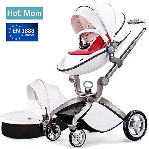 Hot Mom - Kombikinderwagen 3-in-1 Version 2018