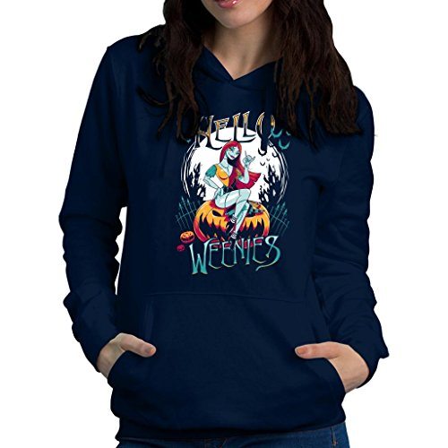 Hello Weenies Sally Nightmare Before Christmas Women's Hooded Sweatshirt