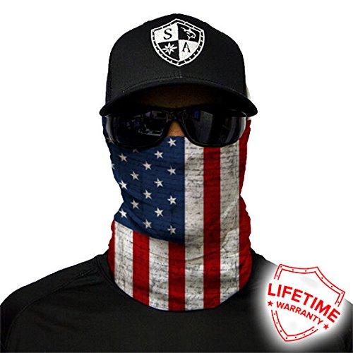 SA Company Unisex American USA Flag Design Caps, Multi-Coloured, One Size