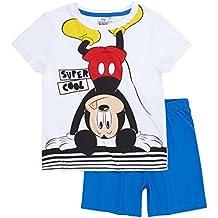 Disney Mickey Chicos Pijama mangas cortas 2016 Collection - Blanco
