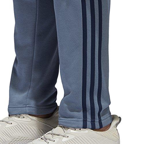 adidas Herren Essentials 3-Streifen Hose Raw Steel/Collegiate Navy