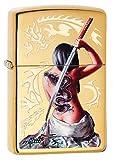 Best BIC Lighter Fluids - Zippo Unisex's MAZZI Dragon Tattoo Windproof Lighter, High Review