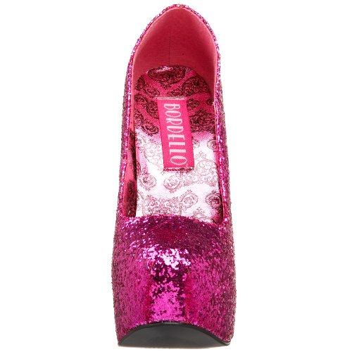 Pleaser - Eu-Teeze-06, Scarpa Con Tacco da donna H. Pink Gltr