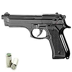 Idea Regalo - Scacciacani Pistola a Salve KIMAR Beretta 92 Calibro 9mm Nera
