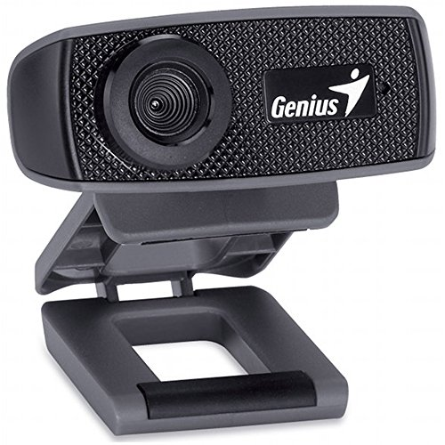 Genius facecam 1000x webcam hd, usb 2.0, uvc/mic, nero